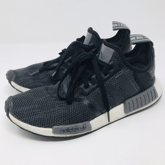 premium selection 89918 9f5db adidas NMD R1 Core Black Carbon Grey Men's US 11.5